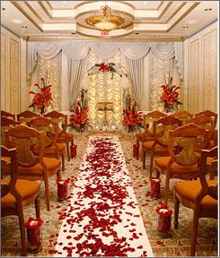 Stylish Wedding Chapel Decoration 2012 Beautifull And