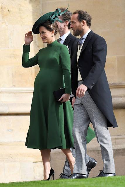 robe émeraude d'Emilia Wickstead Pippa Middleton