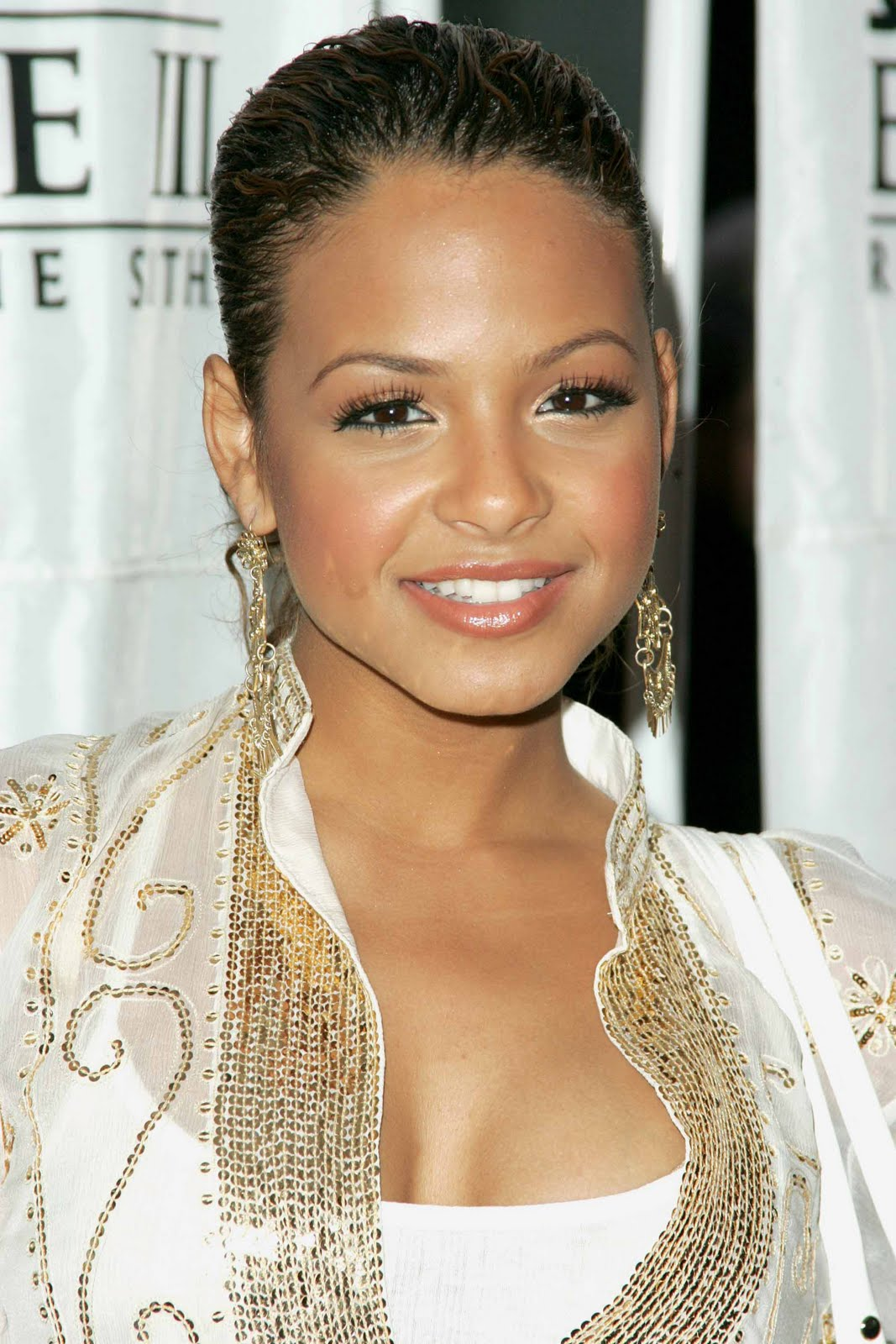 rob kardashian girlfriend: christina milian different hairstyle
