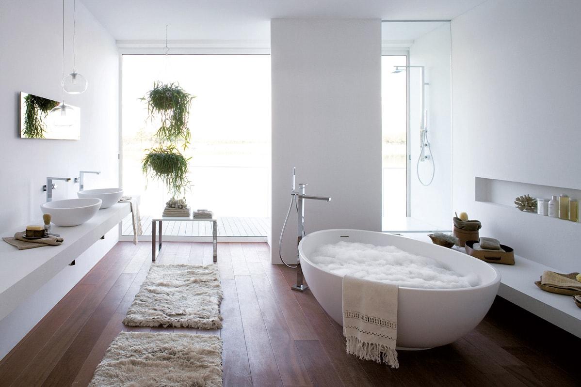 elegant great interesting baeras modernas en ambientes grandes with ambientes baos modernos with ambientes baos modernos with baos grandes modernos with - Baos Grandes Modernos