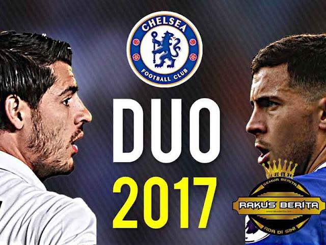 Hazard Menantikan Duetnya Bersama Morata Di Chelsea