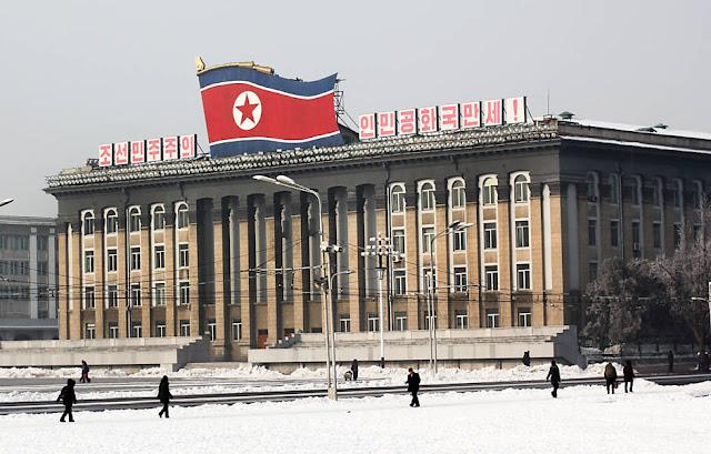 Coreia do Norte faz lançamento de míssil balístico - MichellHilton.com