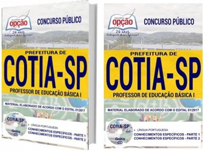 Apostila Prefeitura de Cotia 2018