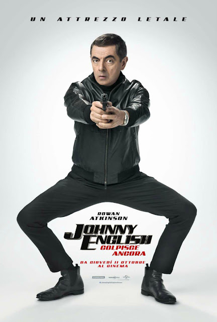 Johnny English Colpisce Ancora Rowan Atkinson