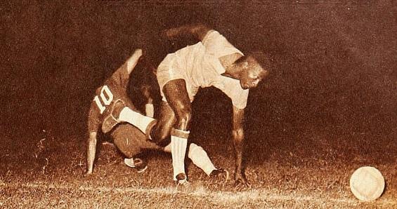Brasil y Chile en Campeonato Sudamericano de 1957