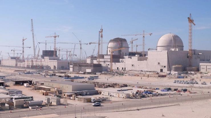 Строящаяся атомная электростанция ОАЭ