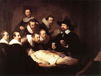 A Lição de Anatomia do Dr. Tulp. Rembrandt, 1632.
