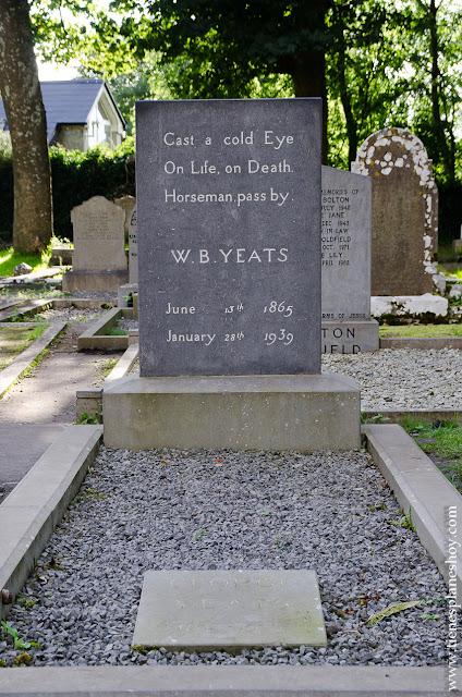 Tumba de W.B Yeats Irlanda Condado de Sligo