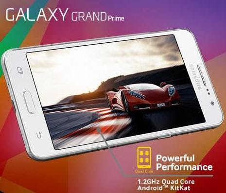 Samsung Galaxy Grand Prime, Snapdragon 410 Powered Phablet for Php9,990