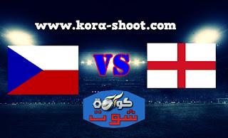 مشاهدة مباراة إنجلترا وجمهورية التشيك بث مباشر 22-03-2019 التصفيات المؤهلة ليورو 2020
