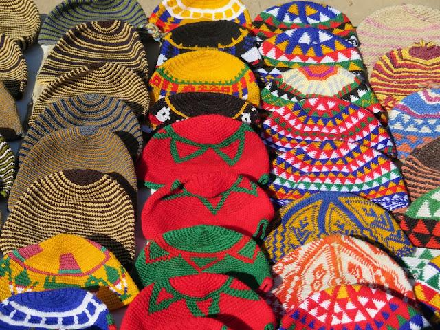 Artesanía en el zoco de Marrakech