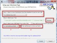 Universal USB Installer for Windows v1.9.8.0 Terbaru