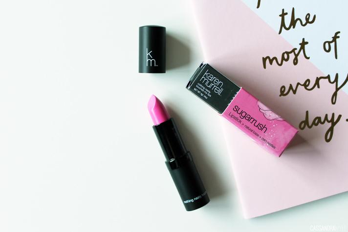 KAREN MURRELL // New Sugar Rush Lipstick - CassandraMyee
