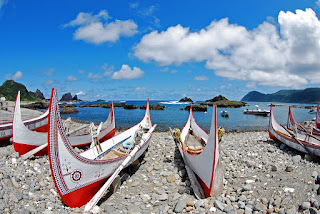 Boats of Tao (Yami) people, Orchid Island