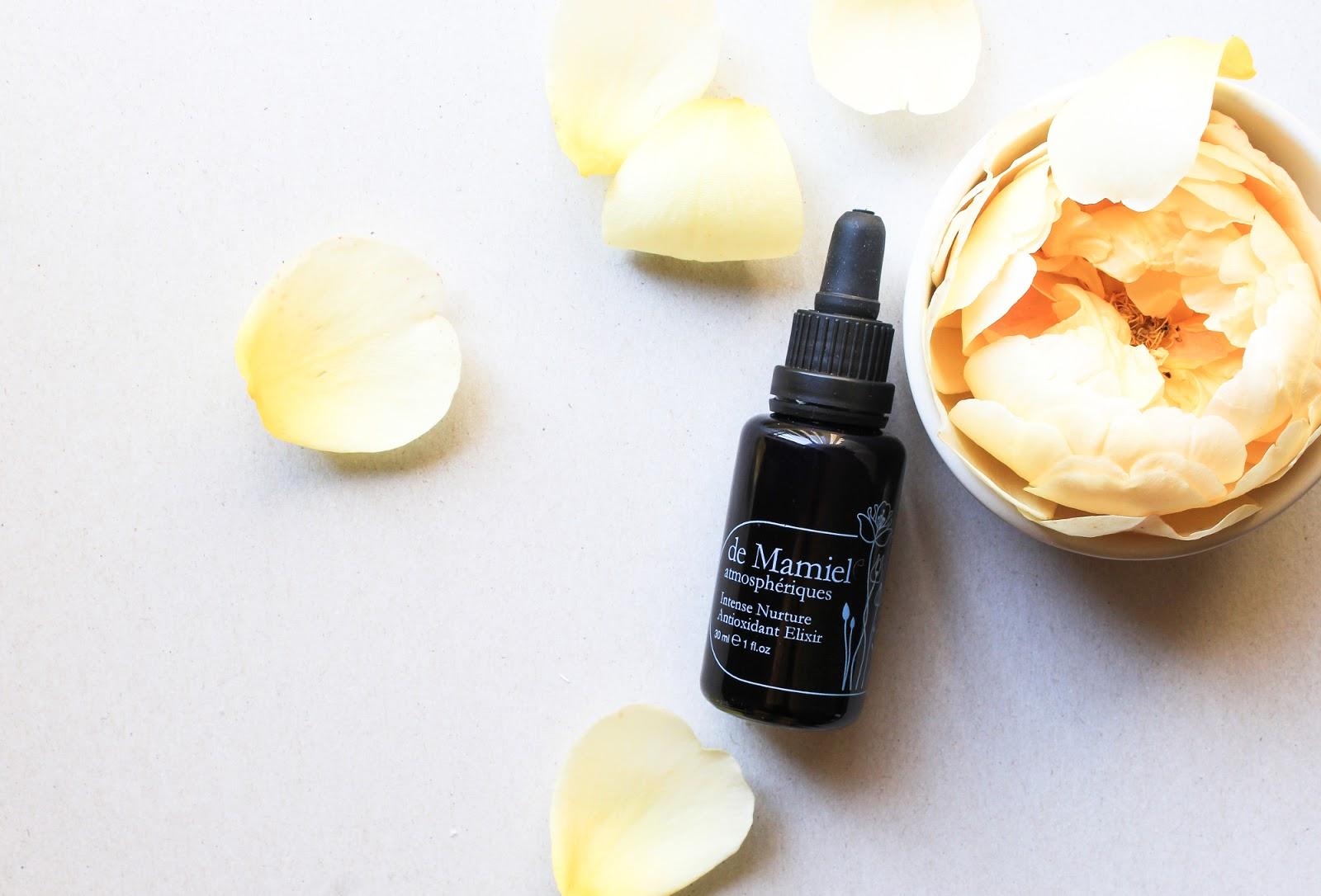 de Mamiel Intense Nurture Antioxidant Elixir Serum. Beauty Heroes.