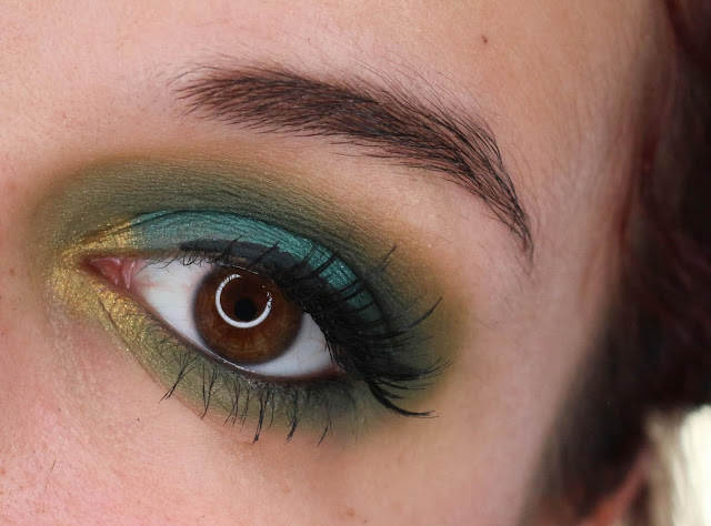Je tente le smocky vert avec la Swear by it de Nyx !