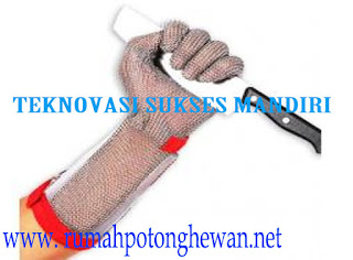 Sarung Tangan Stainless Steel