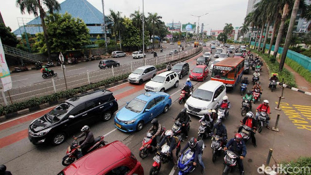PDIP DKI Khawatir Jakarta Makin Macet Jika Pajak Motor Dihapus