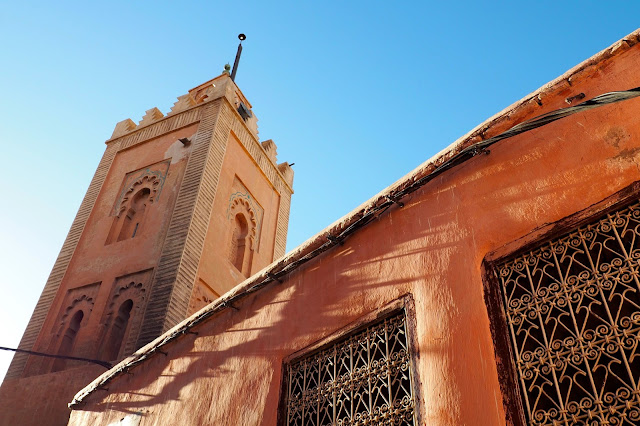 mosque in Marrakech Photo Diary