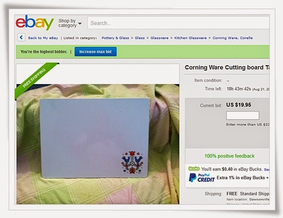 Corning Cutting Board Ebay