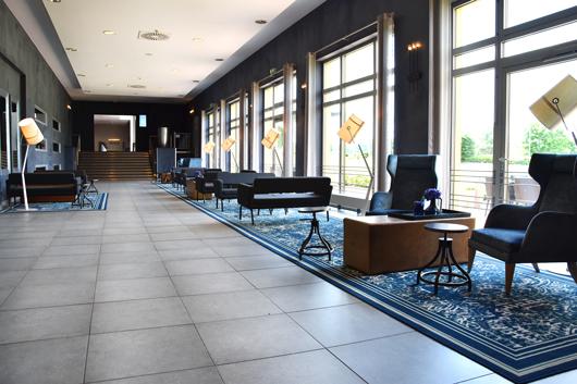 Modernes Design im Van der Valk Hotel: Nach und nach wird alles renoviert