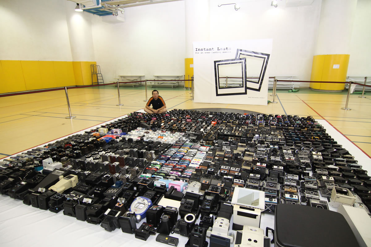 """possibly the world's largest instant camera collection"""