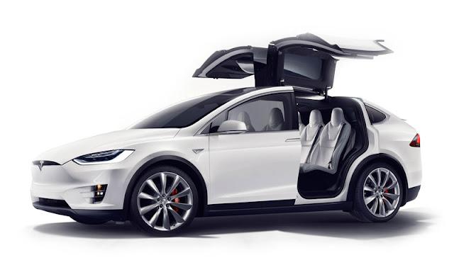 Auto Model X TESLA