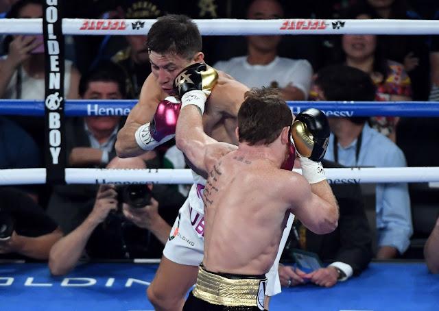 Canelo Alvarez Vs Gennady Golovkin (GGG)  2 Fight Photos