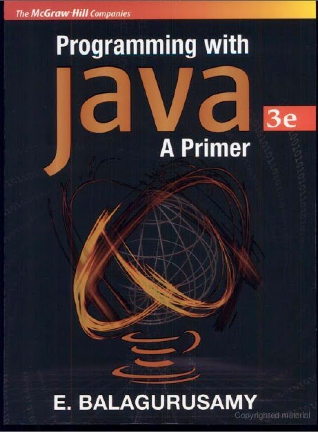 Programming With Java A Primer 3E by Balagurusamy