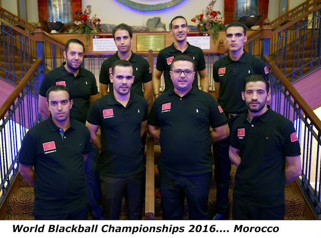 World Blackball Championships 2016 Morocco