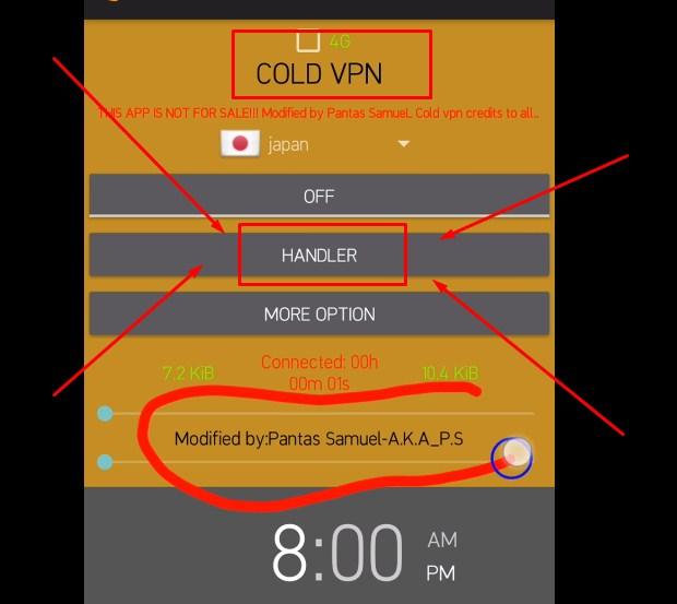 Cara Menggunakan Cold VPN