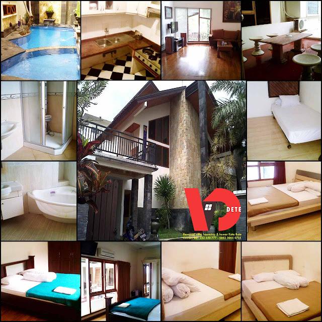 Villa Parikesit Kota Batu Plus Kolam Renang
