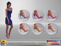 Madlen Fabrizio Shoe Recolor - Maxis Match