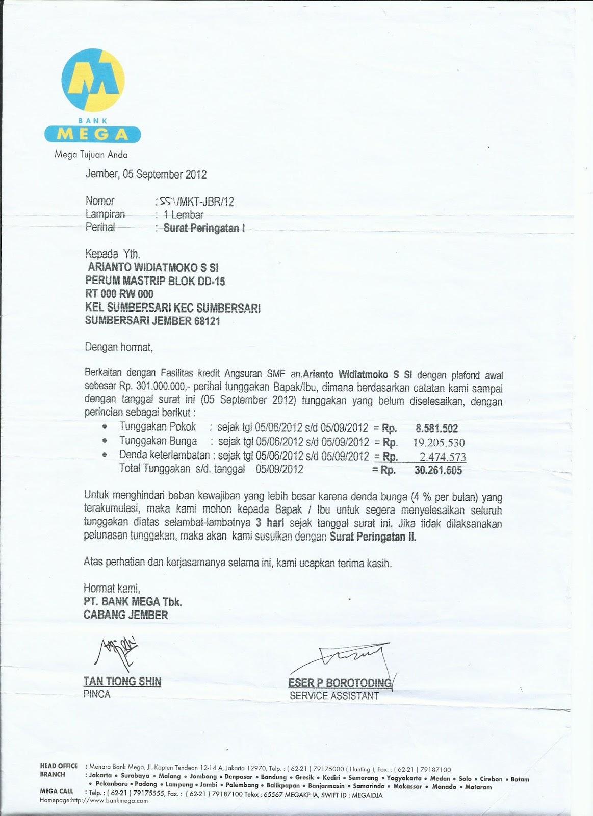 contoh surat kuasa bayar pajak motor contoh 36