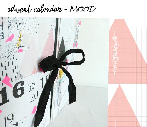 advent calendar - calendrier de l'avent