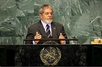 Resultado de imagem para Lula Onu