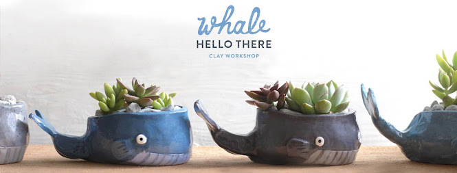 4Cats Whale Clay Workshop