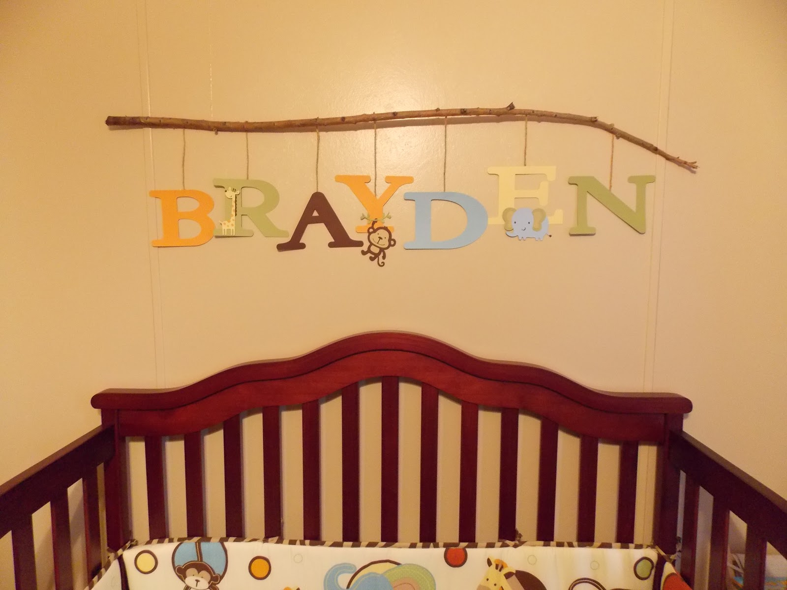 One Happy Mommy: At Last...Brayden's Nursery/Room
