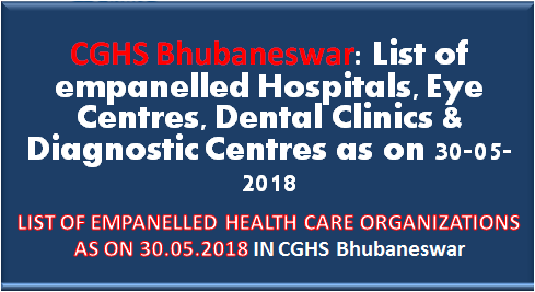 cghs-bhubaneswar-list-of-empanelled-hospitals