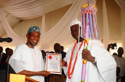 ooni of ife coronation ceremony takes place