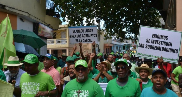"""Marcha Verde dice """"falta gente"""" en caso Odebrecht"""