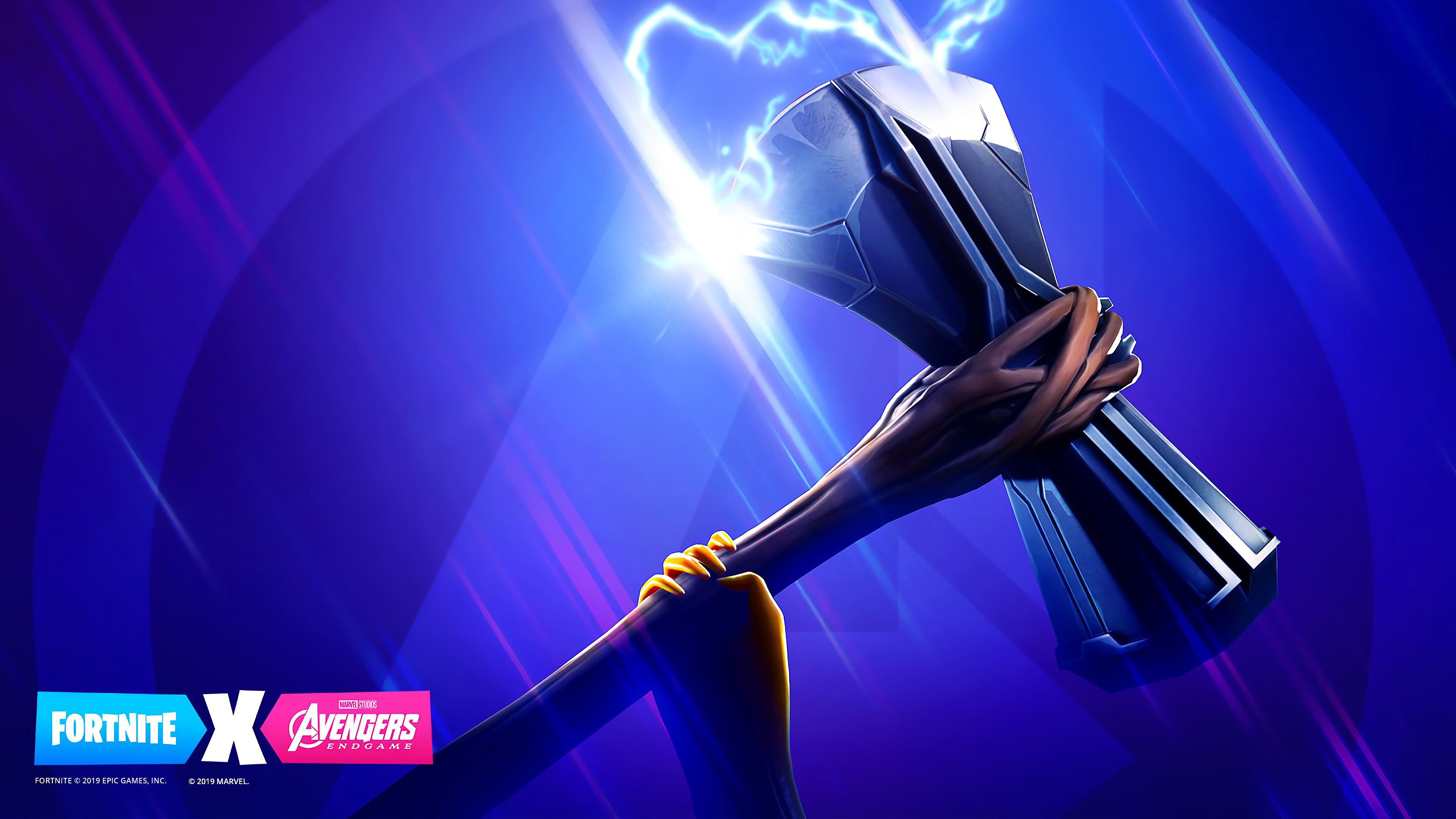 Fortnite X Avengers Stormbreaker 4k Wallpaper 176