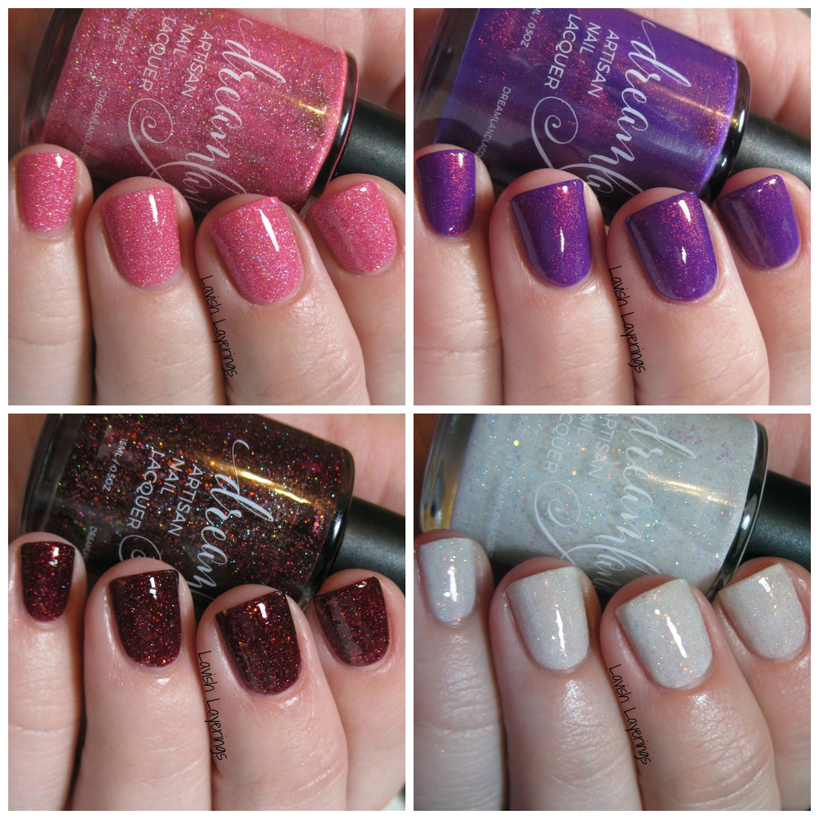 Lavish Layerings: Dreamland Lacquer Power Ballads Collection for ...