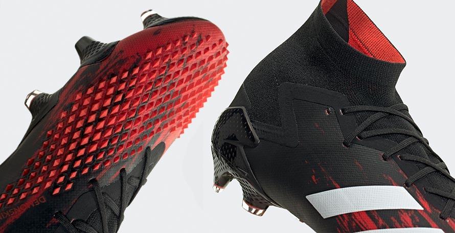 adidas Predator Mutator 20+ FG White Core Black Pop