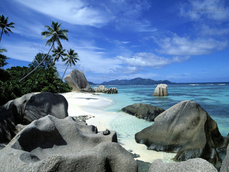 33 Amazing Beaches From Around The World - Anse Source d'Argent, La Digue Island, Seychelles