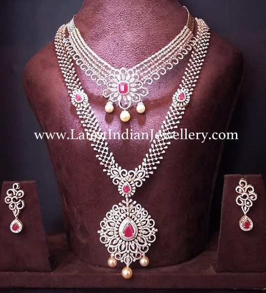 Diamond Necklace Matching Haar