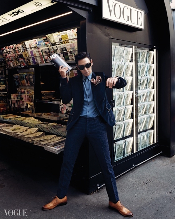 T.O.P, Big Bang  Choi Seung Hyun, Vogue Korea