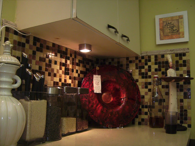 How to Remodel and Decorate a Small Kitchen. Adding under the cabinet lighting.