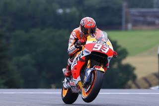 Marquez Tercepat Sesi Pemanasan MotoGP San Marino Italia 2016