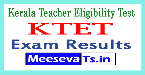Kerala TET Result 2018 KTET Merit List